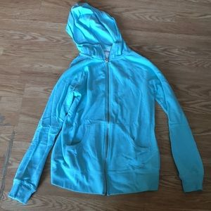 Victoria Secret blue sweat shirt